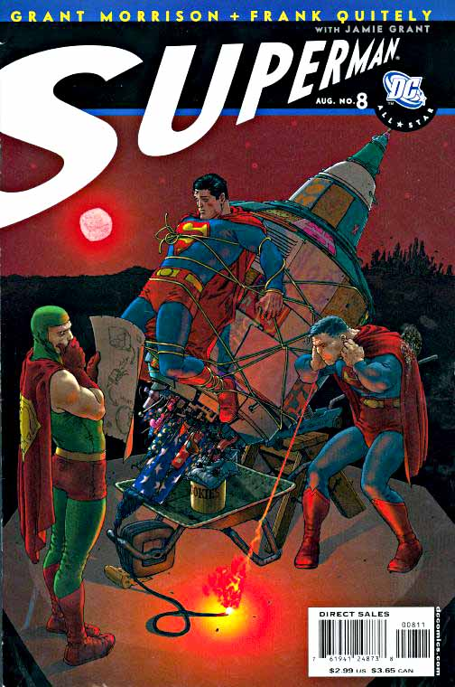 All-Star Superman 8 cover