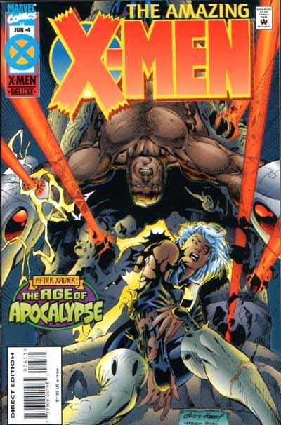 Amazing X-Men 4 cover