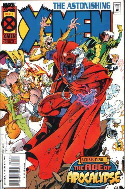 Astonishing X-Men 1 cover