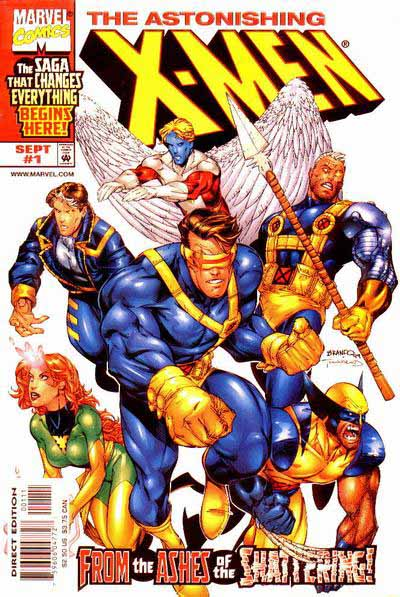 Astonishing X-Men 1 cover