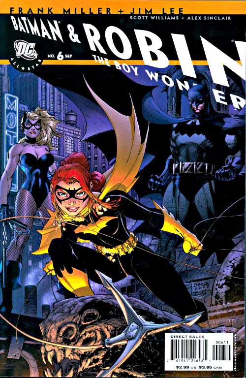 All-Star Batman & Robin 6 cover