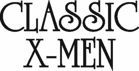 Classic X-Men type