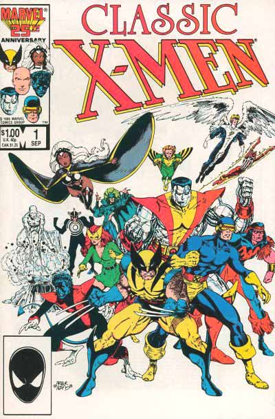 Classic X-Men 1 cover
