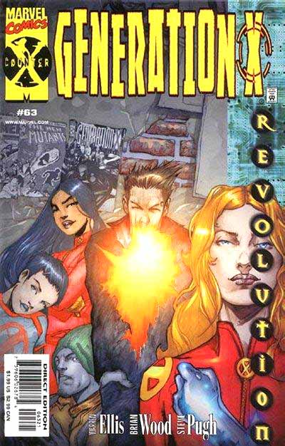 Generation X 63 cover