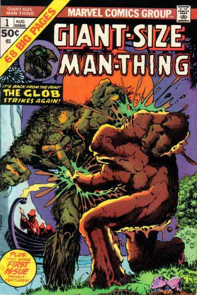 Giant-Size Man-Thing 1 cover