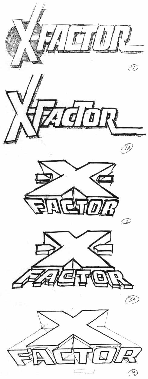 X-Factor Alex Jay sketches
