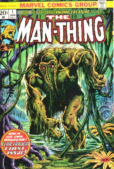 Man-Thing 1 cover