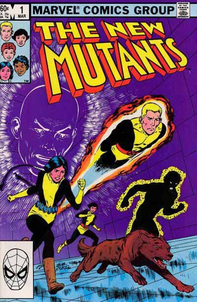 New Mutants 1 cover