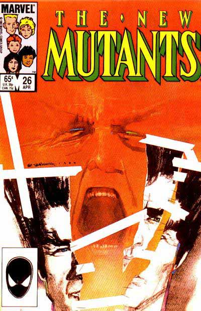 New Mutants 26 cover