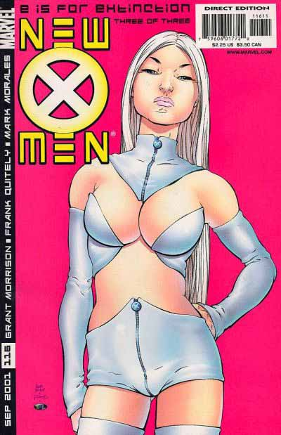 New X-Men 3 cover