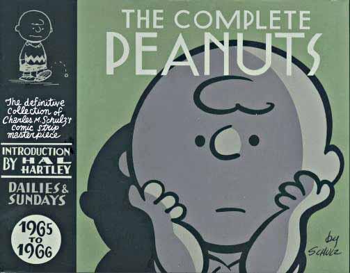 Peanuts 1965-1966 cover