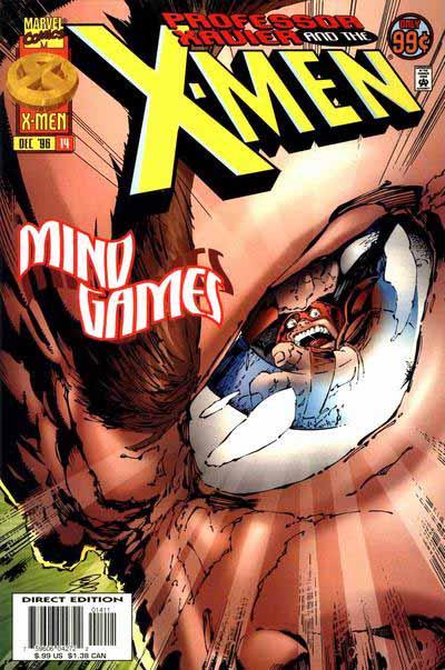Professor Xavier and the X-Men 14 cover