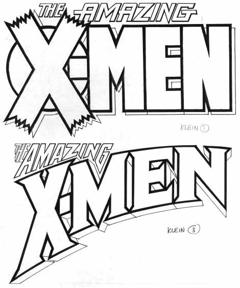 Amazing X-Men sketches by Todd