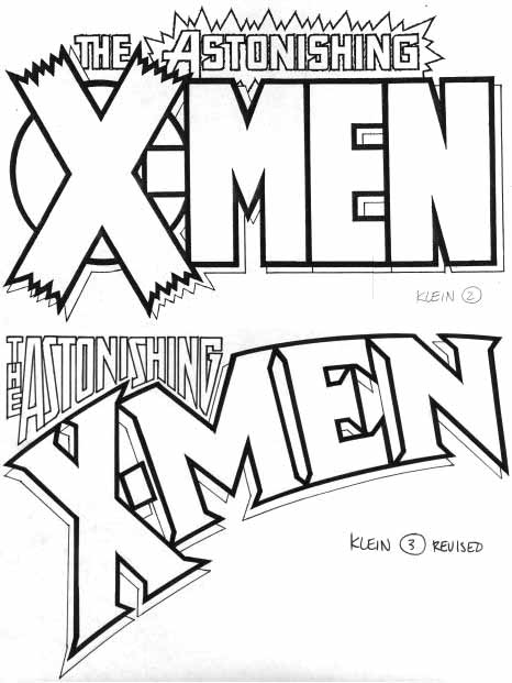 Astonishing X-Men sketches by Todd