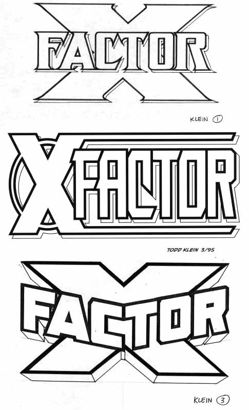 X-Factor sketches by Todd