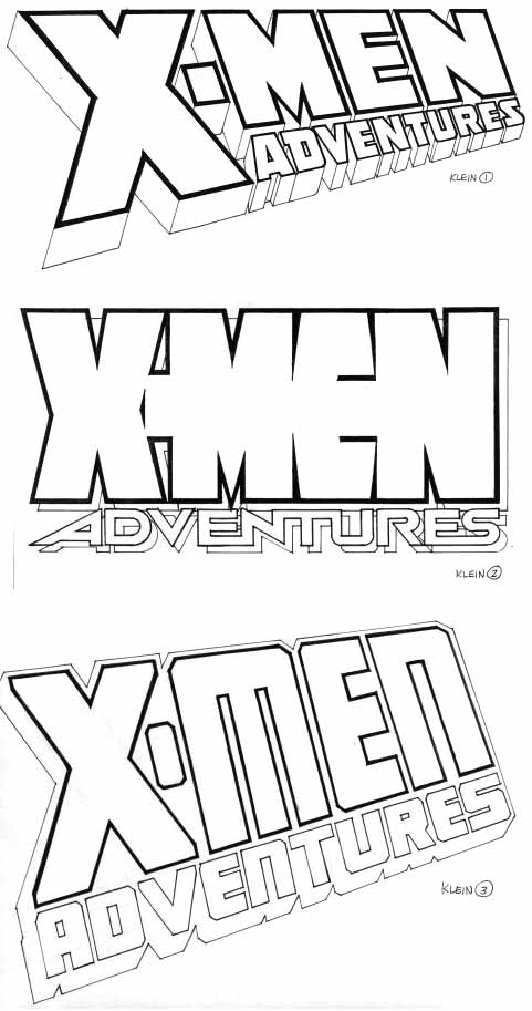 X-Men Adventures sketches by Todd