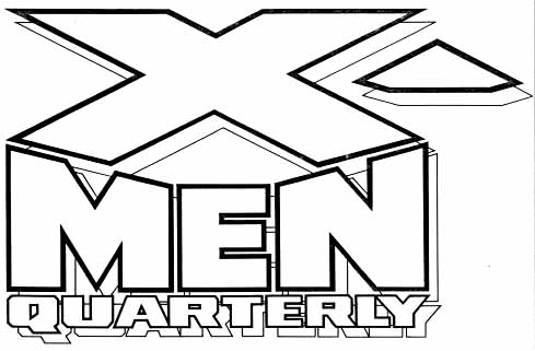 X-Men Quarterly sketch by Todd