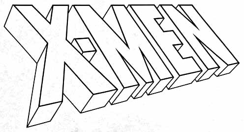 Steranko X-Men logo redrawn by Todd