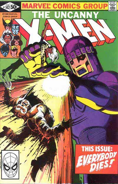Uncanny X-Men 142 cover