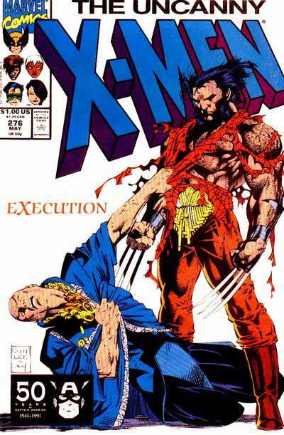 Uncanny X-Men 276 cover