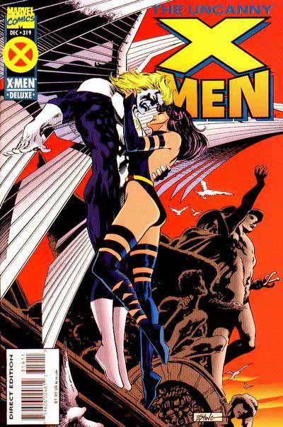 Uncanny X-Men 319 cover