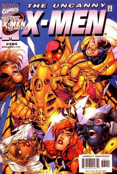 Uncanny X-Men 384 cover