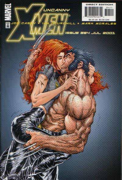 Uncanny X-Men 394 cover