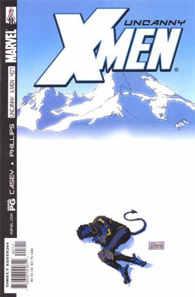 Uncanny X-Men 407 cover
