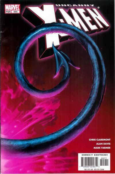 Uncanny X-Men 444 cover