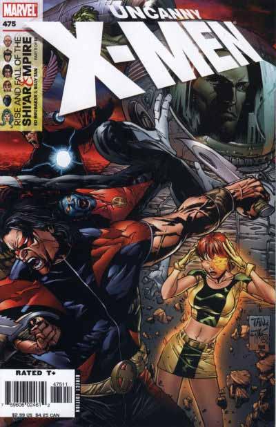 Uncanny X-Men 475 cover