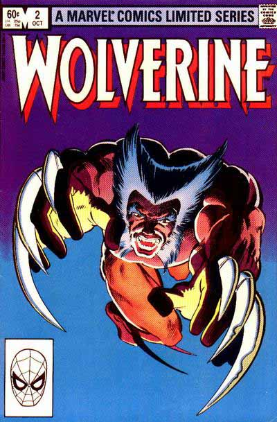 Wolverine mini-series 2 cover