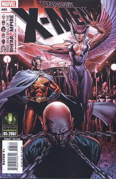 Uncanny X-Men 485 cover