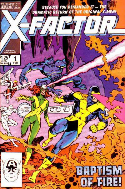 X-Factor 1 cover