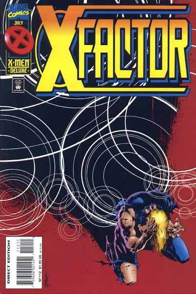 X-Factor 112 cover