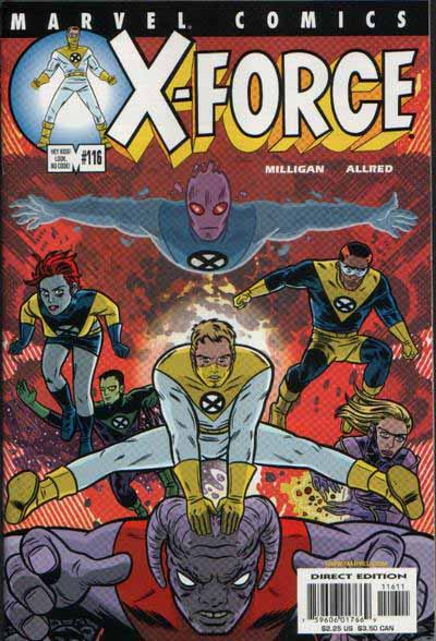 X-Force 116 cover