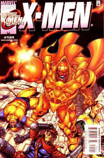 X-Men 104 cover