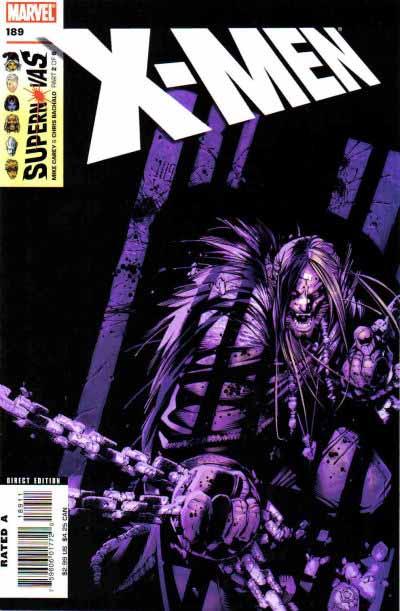 X-Men 189 cover