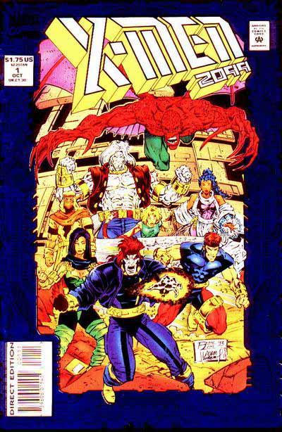 X-Men 2099 1 cover