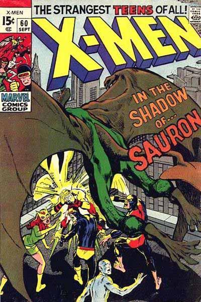 X-Men 60 cover