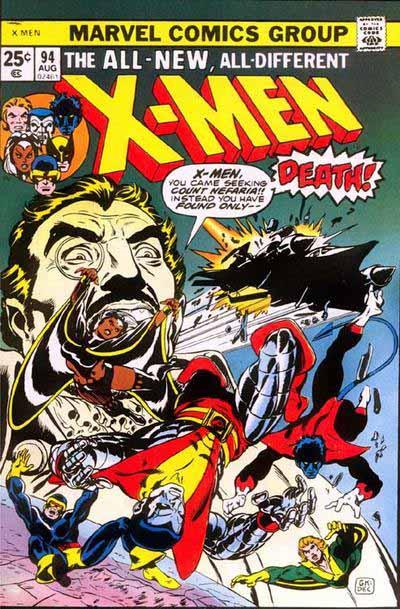 X-Men 94 cover