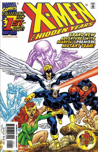 X-Men Hidden Years 1 cover