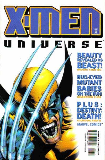 X-Men Universe 1 cover