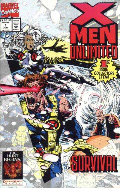 X-Men Unlimited 1 cover