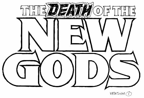 Death of New Gods sketch 1