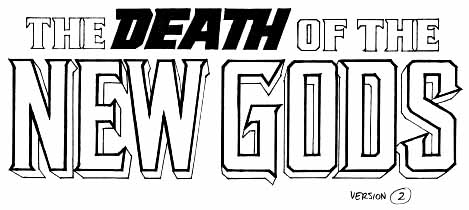 Death of New Gods sketch 2