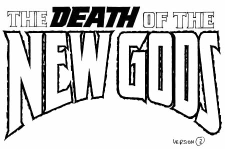 Death of New Gods sketch 3