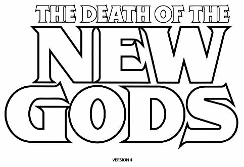 Death of New Gods sketch 4