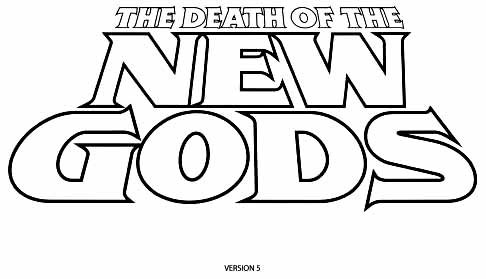 Death of New Gods sketch 5