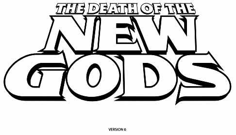 Death of New Gods sketch 6
