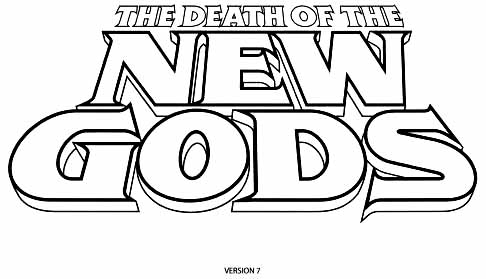 Death of New Gods sketch 7